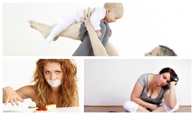 диета спорт после родов