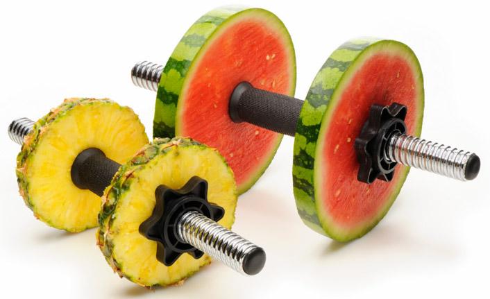 фруктовые-гантели