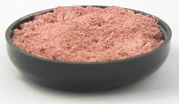 порошок розовой глины