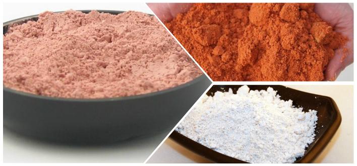 состав розовой глины