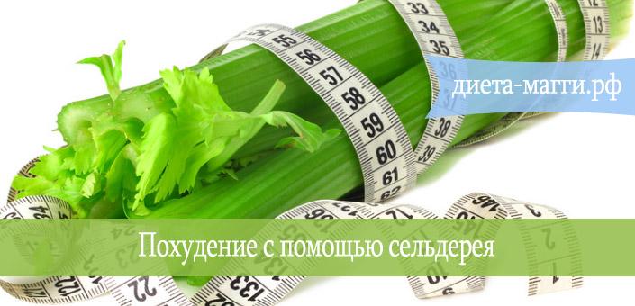 Как от сельдерея похудеть