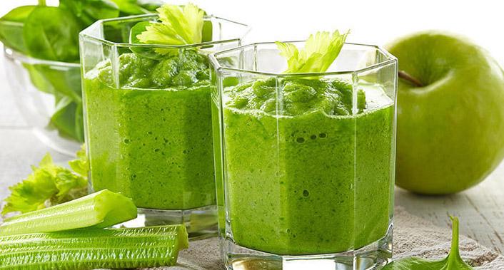 зелёный-смузи